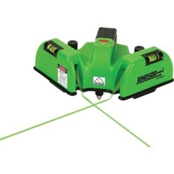 Johnson Level 40-6622 Heavy Duty Flooring Laser with GreenBrite Technology