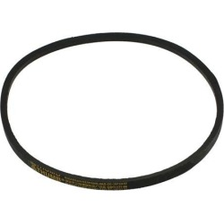 Unique Bargains Black Rubber 38' Inner Girth M Type Automotive V Belt