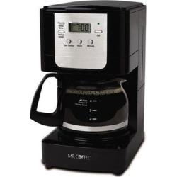 Mr. Coffee Advanced Brew 5-Cup Programmable Coffee Maker, Black