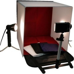 Photo Studio 16' Photography Light Tent In A Box Backdrop Kit Carrying Case Cube