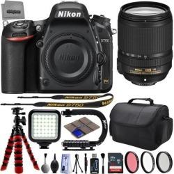 Nikon D750 24.3MP 1080P DSLR Camera w/ 3.2' LCD - Wi-Fi & GPS Ready + Nikon AF-S 18-140mm f/3.5-5.6G ED VR - 32GB -25PC Lens Kit