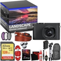 Leica Q-P Digital Camera - Master Landscape Photographer Kit - Memory Card - Accessories (Reed)