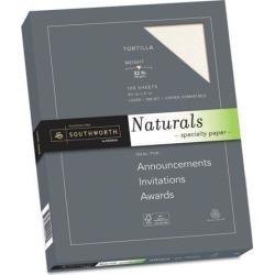 Southworth 99417 Naturals Paper, Latte, 8 1/2 X 11, 32Lb, 100 Sheets