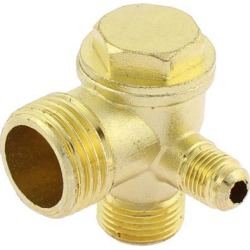 20mm Dia Male Thread Air Compressor Check Valve Replacement Parts