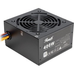 Rosewill RD 400Z 400W Power Supply, 80 PLUS Certified Active PFC Non-Modular Gaming PSU, Single +12V Rail