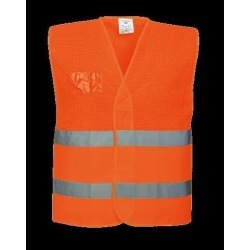 Portwest HiVis Mesh Vest - Regular, Orange, Size S/M found on Bargain Bro Philippines from Newegg Canada for $20.68