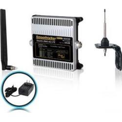 Smoothtalker Stealth Z6 65dB 4G LTE High Power 6 Band Cellular Signal Booster Kit - 700 MHz, 850 MHz, 1900 MHz, 1700 MHz, 2100 MHz - LTE - 4G.