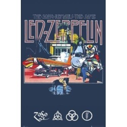 Posterazzi SCO31605 Led Zeppelin Song Remains the Same Poster Print - 24 x 36 in. found on Bargain Bro Philippines from Newegg Canada for $34.02