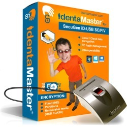 Biometric Security Software with SecuGen Hamster Pro iD-USB SC/PIV with Card Reader