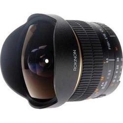Rokinon ROK8MMNIK 8mm F/3.5 Aspherical Fisheye Manual Focus for Nikon AI