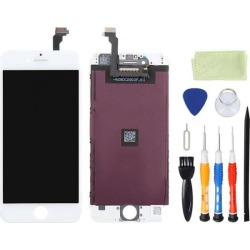 LCD Display Touch Digitizer Screen Assembly Replacement for iPhone 6 4.7 inch With Tool Kit - White