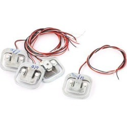 4Pcs 50kg Electronic Scale Body Load Cell Weight Sensor
