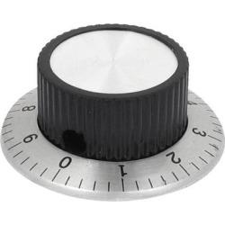 6mm Shaft 36mmx15mm Volume Control Potentiometer Rotary Digital Knob Cap