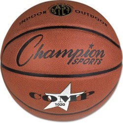 Champion Sports Composite Basketball Official Size 30' Brown SB1020