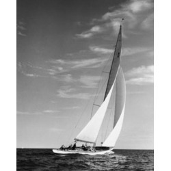 Posterazzi SAL25550149 Sailboat in the Sea Poster Print - 18 x 24 in.