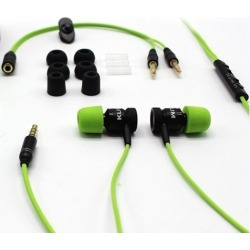 KLIM Fusion Gaming Ear buds Audio - Long-lasting Wired Earbuds with Microphone + 5 years Warranty - Innovative: In-ear Memory Foam & Mic - [New.