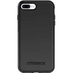 OtterBox SYMMETRY SERIES Case for iPhone 8 Plus & iPhone 7 Plus (ONLY) - Retail Packaging - BLACK