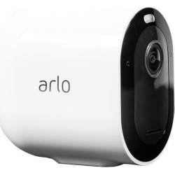 Arlo Pro 3 - Wire-Free Security Add-On Camera, 2K Resolution with HDR, 160° View, Indoor/Outdoor, Color Night Vision, Spotlight, 2-Way Audio.