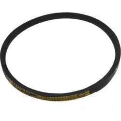 Unique Bargains Machinery Drive Band Rubber K Type Vee V Belt Black 5/16' x 18'