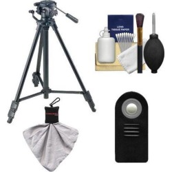 Sony VCT-R640 61' Photo/Video Tripod with Head + Remote for A58 A65 A77 A99