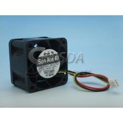 San Ace 109P0412K3233 4028 40*40*28 mm 12V 0.55A 3wire 100405F 1U Server inverter cooling Fan 109P0412 case cooler