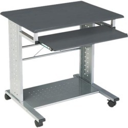 Mayline Eastwinds Empire Mobile PC Cart, 29¾w x 23½d x 29¾h, Anthracite