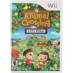 Animal Crossing: City Folk Wii Game found on GamingScroll.com from Newegg Canada for $28.53