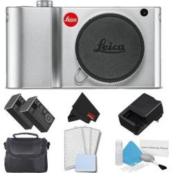 Leica TL2 Mirrorless Digital Camera (Silver) Accessory Kit