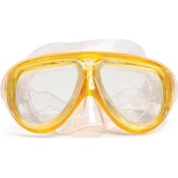 6.5' Yellow Telstar Pro Mask Swimming Pool Accessory for Adults