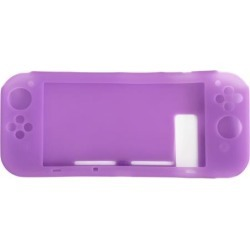 Indigo7 Authorized Nintendo Switch Silicone Console Case Grip Protector Cover - Purple