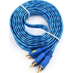 Universal 3 RCA Male to 3 RCA Male Audio Video Cable 16.4Ft Long for DVD Player