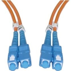 Cable Wholesale Electronics Fiber Optic Cable SC / SC Multimode Duplex 15 meter (49.2 foot)