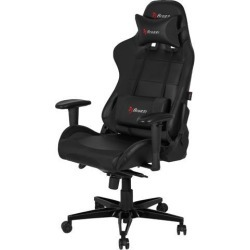 Arozzi Verona XL+ Gaming Chair Black - Adjustable Neck and Back Pillows, Ergonomic