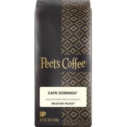 Peet's Coffee & Tea 504874 Café Domingo Ground Coffee, Regular, Medium, 16 oz - 20 Each
