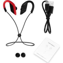 Wireless Bluetooth Stereo Headphone Ear-hanging Headphone Sports Hands-free Waterproof Headset earphone with mic earphone with mic