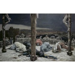 Posterazzi SAL99950 The Earthquake James Tissot 1836-1902 French Poster Print - 18 x 24 in.