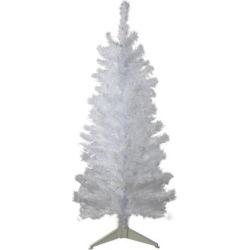 4' White Iridescent Pine Artificial Christmas Tree - Unlit