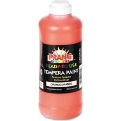 Ready-To-Use Tempera Paint, Orange, 16 Oz