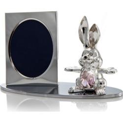 New Matashi CTFS0203 Cartoon Bunny Picture Frame Made with Genuine Matashi Crystals