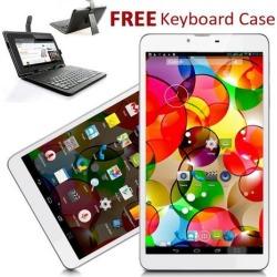 Indigi® 7' Android 4.4 KitKat Tablet PC GSM 3G SmartPhone [Keyboard Case Bundled]