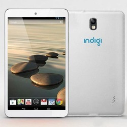 Indigi® White 7' Android 4.2 Tablet Leather Back Dual Camera WiFi HDMI Google Play Store