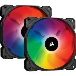 CORSAIR iCUE SP140 RGB PRO Performance 140mm Dual Fan Kit with Lighting Node CORE - CO-9050096-WW