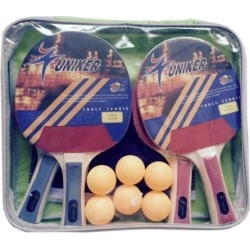 Recreational Table Tennis Net, Paddles and Balls Game Set