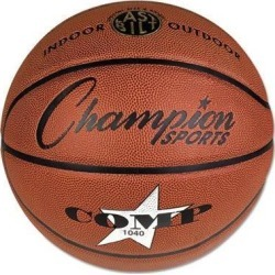 Champion Sports Composite Basketball Official Junior 27.75' Brown SB1040