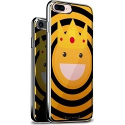 LUXENDARY EMOJI WITH A CROWN DESIGN CHROME SERIES CASE FOR IPHONE 6/6S PLUS