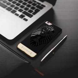 ROARING LION DESIGN 24K SERIES PREMIUM CASE FOR IPHONE 6/6S + TEMPERED GLASS