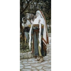 Posterazzi SAL99919 The Magnificat James Tissot 1836-1902 French Poster Print - 18 x 24 in.