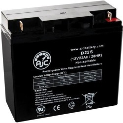 APC SMART UPS 3000 - SMART UPS 3000 12V 22Ah UPS Battery - This is an AJC Brand Replacement
