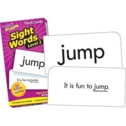 TREND Skill Drill Flash Cards 3 x 6 Sight Words Set 2 T53018