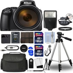 Nikon COOLPIX P1000 Digital Camera with Professional Additional Accessories